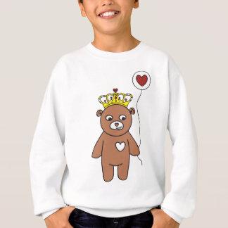 teddy bear queen sweatshirt