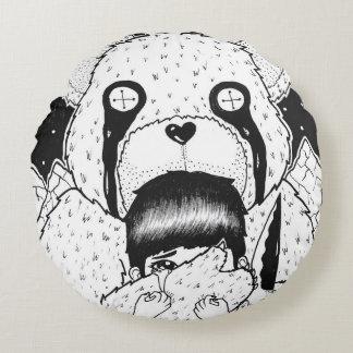 Teddy Bear Round Pillow