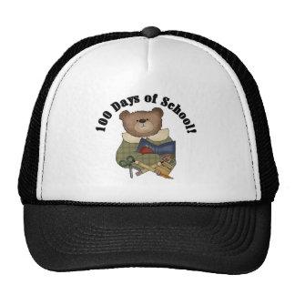 Teddy Bear School 100 Days Tshirts and Gifts Hats