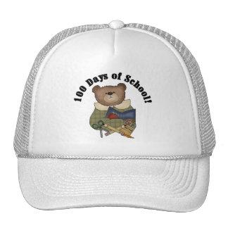 Teddy Bear School 100 Days Tshirts and Gifts Mesh Hat