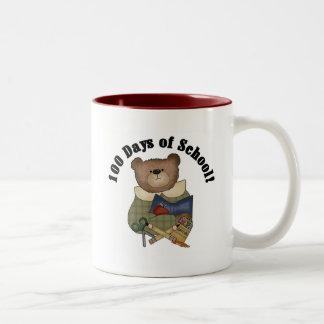 Teddy Bear School 100 Days Tshirts and Gifts Mug