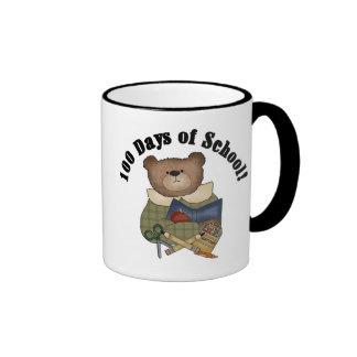 Teddy Bear School 100 Days Tshirts and Gifts Mugs