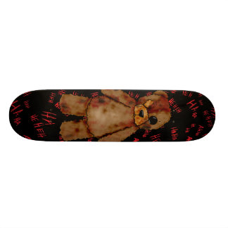 Teddy Bear skateboard. Skateboard
