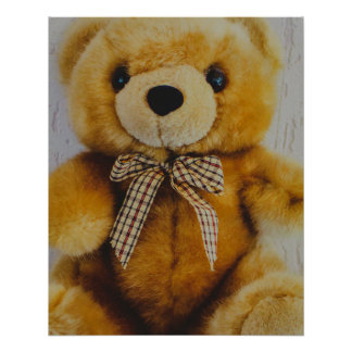 Teddy bear stuffed toy perfect poster
