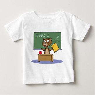 Teddy Bear Teacher Baby T-Shirt