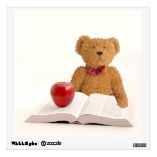 Teddy bear teacher wall sticker