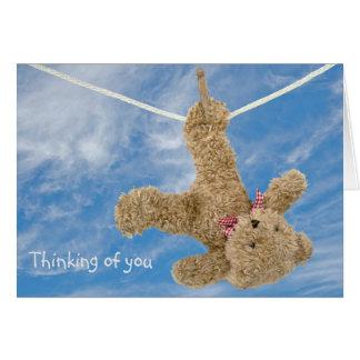 Teddy Bear thinking of you Card