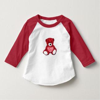 Teddy Bear Toddler 3/4 Sleeve Raglan T-Shirt