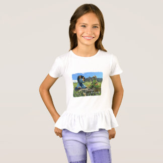 Teddy Bear Tours Boulder Colorado Dinosaur Print T-Shirt