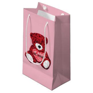 Teddy Bear Valentine Small Gift Bag