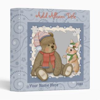 Teddy Bear Winter Binder