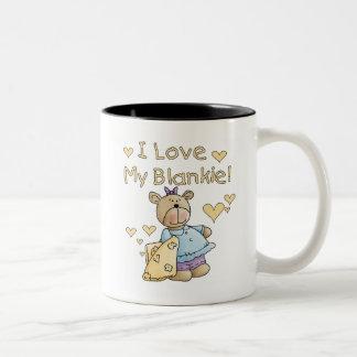 Teddy Bear With Blanket Tshirts and Gifts Coffee Mug