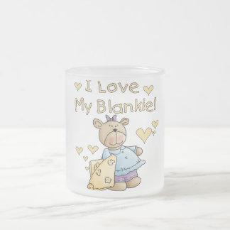 Teddy Bear With Blanket Tshirts and Gifts Mug