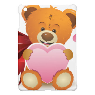 Teddy Bear with Heart iPad Mini Case