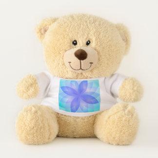 Teddy Bears Abstract Lotus Flower