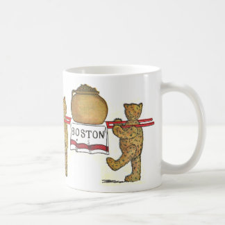 Teddy Bears and Pot of Boston Baked Beans Coffee Mug