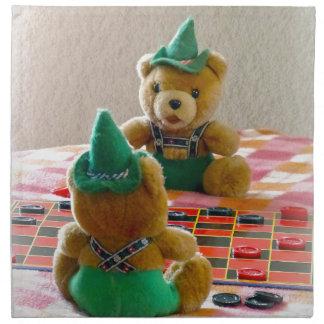 Teddy Bears Cloth Napkin
