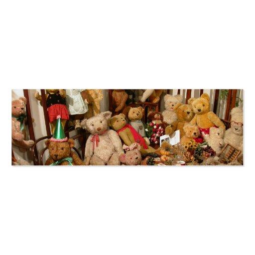 Teddy Bears Collectors Paradise Business Card