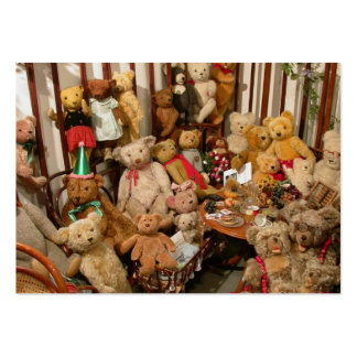 Teddy Bears Collectors Paradise Large Business Card