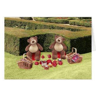 Teddy Bears Picnic Birthday Card