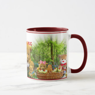 TEDDY BEARS PICNIC ~ Travel mug