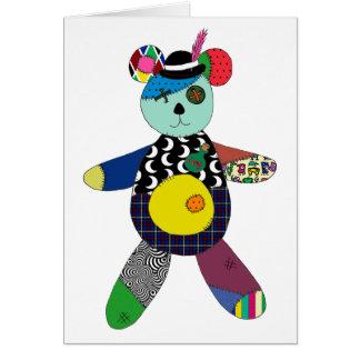 Teddy Boy Voodoo Greeting Card