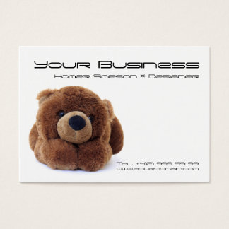 Teddy Business Card