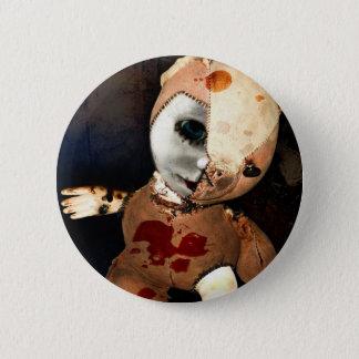 Teddy Freak 2 Inch Round Button