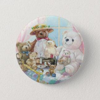 Teddy it up! 2 inch round button