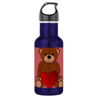 Teddy Love 532 Ml Water Bottle