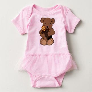 Teddy Love Baby Bodysuit
