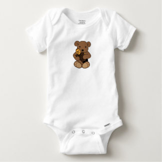 Teddy Love Baby Onesie