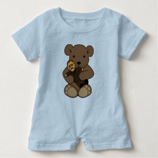 Teddy Love Baby Romper