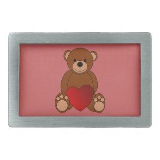 Teddy Love Belt Buckle
