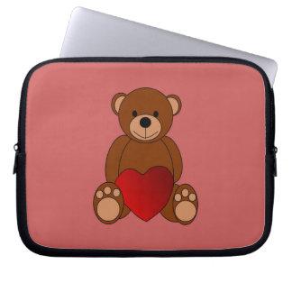 Teddy Love Laptop Sleeve
