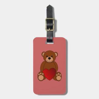 Teddy Love Luggage Tag