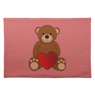 Teddy Love Placemat