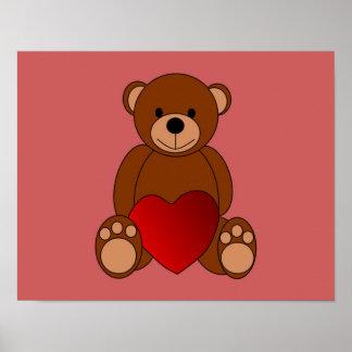 Teddy Love Poster