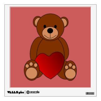 Teddy Love Wall Sticker