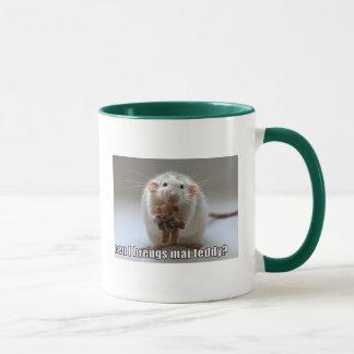 teddy mug