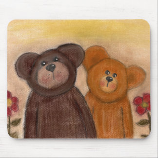 Teddy n Friend Mouse Pads