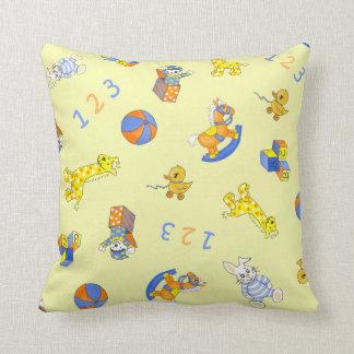 Teddy 'n Toys Throw Pillow