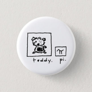 teddy + pi 1 inch round button