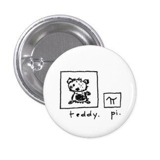 teddy + pi 1 inch round button