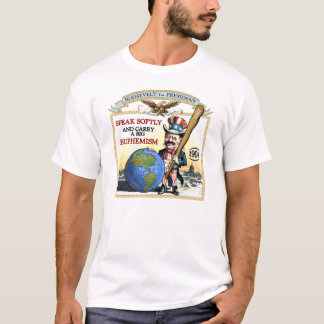 Teddy Roosevelt 1904 Campaign (Men's LIght Shirt) T-Shirt