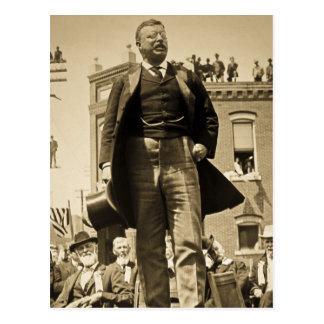 Teddy Roosevelt 1905 Stereoview Card Vintage