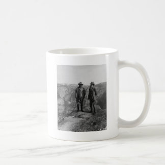 Teddy Roosevelt and John Muir  in Yosemite Coffee Mug