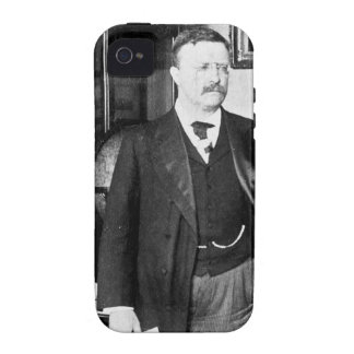 Teddy Roosevelt at the White House 1912 Vintage Vibe iPhone 4 Cases