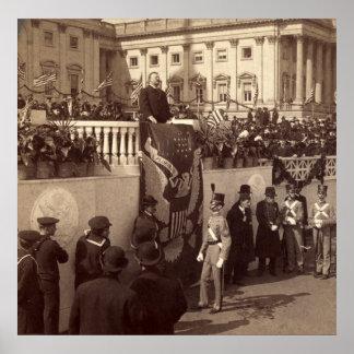 Teddy Roosevelt Inaugural Address, 1905 Poster