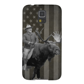 Teddy Roosevelt Riding A Bull Moose Case
